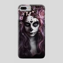 Dia de Muertos - Phone Case by Alexandra V. Bach