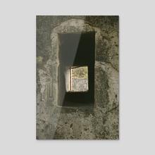 Karakoy Window - Acrylic by Louis Rouse