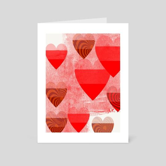 More hearts Portrait version by Navita Williams