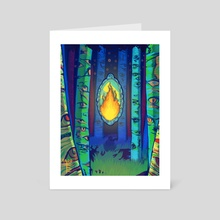 The Violation of Nature - Art Card by Oglesby Finlay
