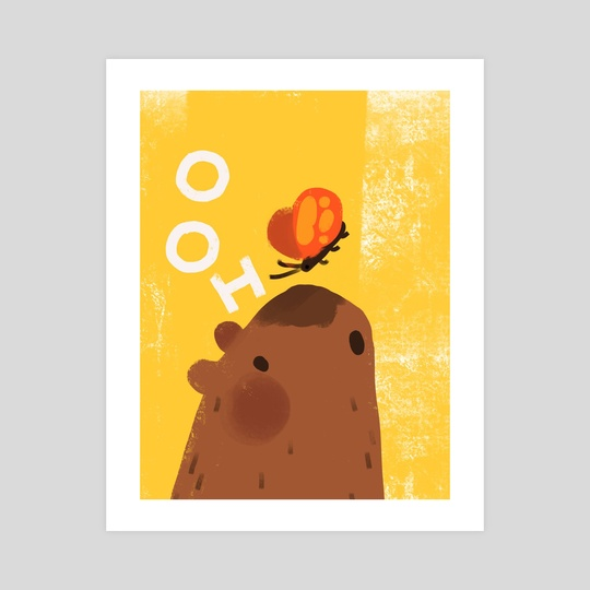 capybara OOH! by Lily Van