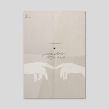 Confessions - Acrylic by Nicole Shoko