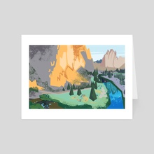 Smith Rock - Art Card by Tristan Chace