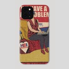 The Empress - Phone Case by AJ Johnson