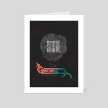Smoke! - Art Card by Hector Mansilla