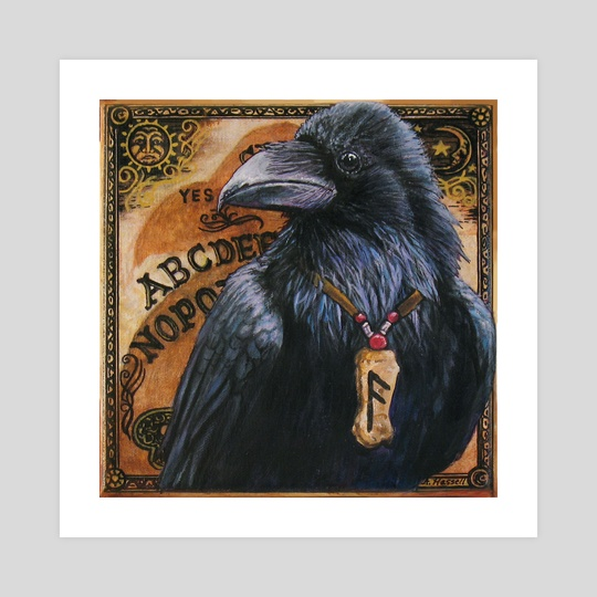 Mystic Raven by Annette Hassell