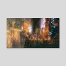 Akihabara Impression No.1 - Acrylic by Benjamin Bardou