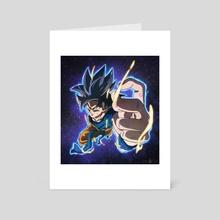 Ultra Instinct -Omen- - Art Card by CELL-MAN