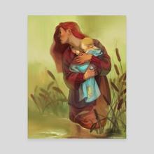 May Day Baby - Canvas by Marta Milczarek
