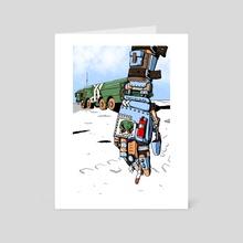 Peace on earth - Art Card by Timothy Dubois