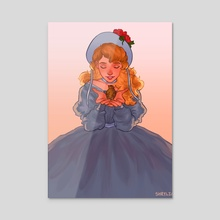 Cosette - Acrylic by S