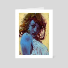 Too Blue - Art Card by John Larriva