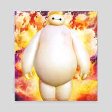 big hero 6 - Canvas by Maxim G