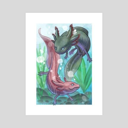 Axolotl by Daniel Claessens