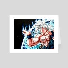 earth has Goku - Art Card by Yann Embry0dead_art