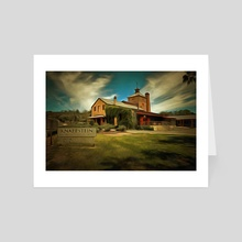 Clare Winery - Art Card by Alan Carson