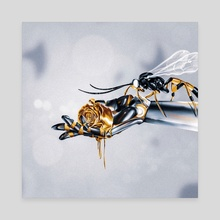 Love Bee - Canvas by Rfjrt