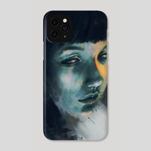 Deep Thought - Phone Case by Kat Marie