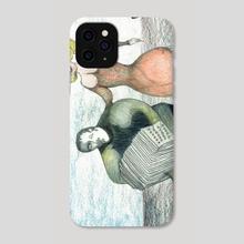Bandoneoncuple - Phone Case by Jorge Heilpern