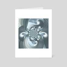 Architecture fractal - Art Card by Bruce Rolff