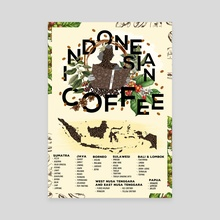 Indonesian Coffee Simple Guide - Canvas by Xavier Lokollo