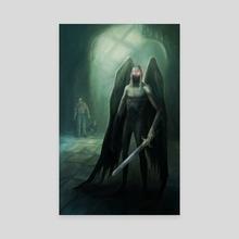 Raziel - Canvas by Svetlana Fictionalfriend