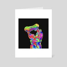 endless kiss - Art Card by femzor