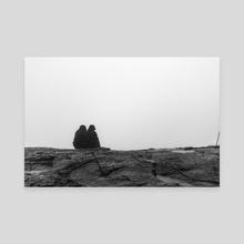 Cliffside pt. 3 - Canvas by Hanna Schaff