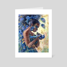 Contemplation - Art Card by Loral Uber