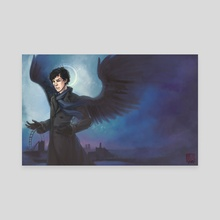 Sherlock - Side of the Angels - Canvas by Grace Fong