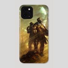 Red Rising - Iron Gold (cover) - Phone Case by Sam Burley