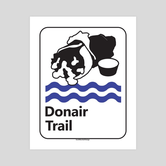 Donair Trail by Scott Marshall