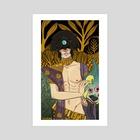 The beast - Art Print by Sue Lockwood