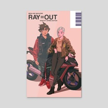 RAY=OUT SPRING EDITION - Acrylic by Nelson Wu
