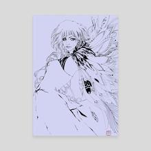 Feather - Canvas by saina six