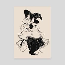 Delivery - Canvas by Tamara Osborn