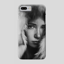 that dream about wolves - Phone Case by Marta Bevacqua