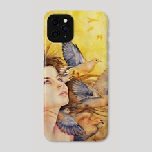 Augury - Phone Case by Caitlin Fowler