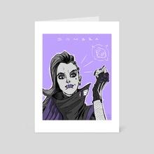 Sombra - Art Card by Mario Maján