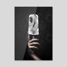 P O P S I C K O - White Edition - Acrylic by Phase Runner