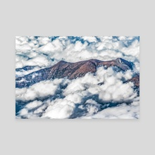 Andes Mountains Aerial View, Chile - Canvas by Daniel Ferreira Leites