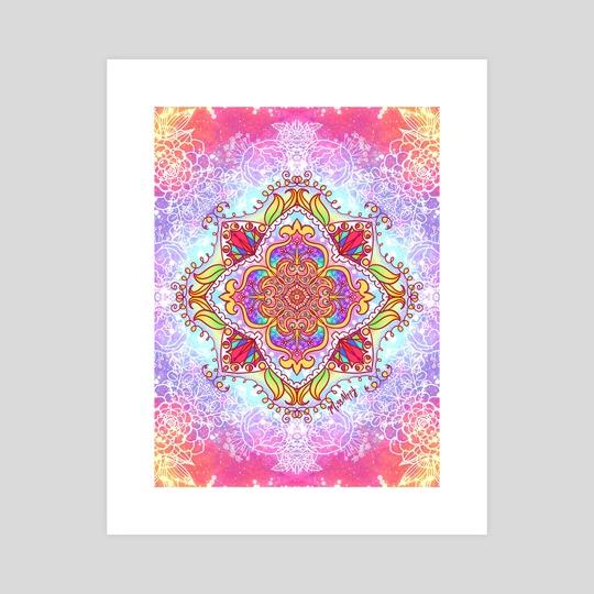 Mandala Four by Haile Dietz