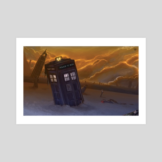 Doctor Who - Let show you something wonderful by Derek Weselake