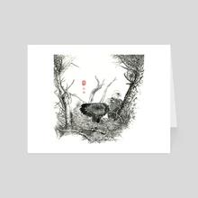 Eagle - 24 - Art Card by River Han