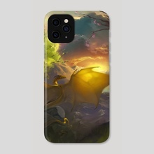 Night falls on the hunting grounds - Phone Case by Melinda Vass