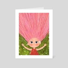 Break free - Art Card by Ladylen Boncato