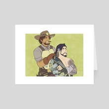 McHanzo Braid - Art Card by Ceyese Art