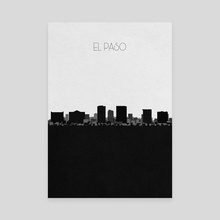 El Paso - Canvas by Deniz Akerman