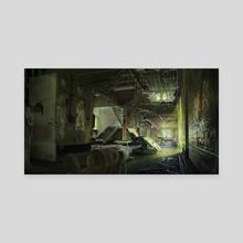 Abandoned Asylum - Canvas by Anthony Christou