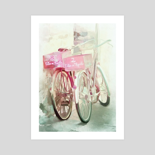 Two Bicycles by Chintami Ricci
